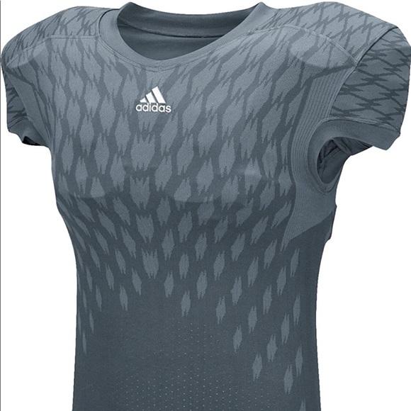 Adidas Mens Techfit Primeknit Football Jersey L